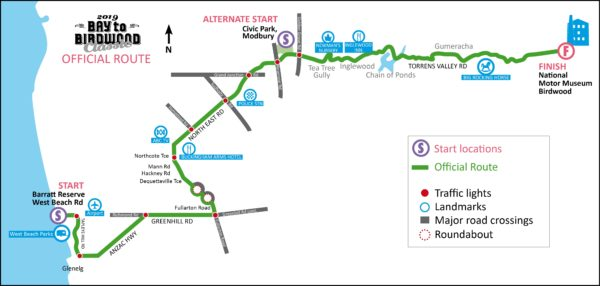2019 Official Route Map