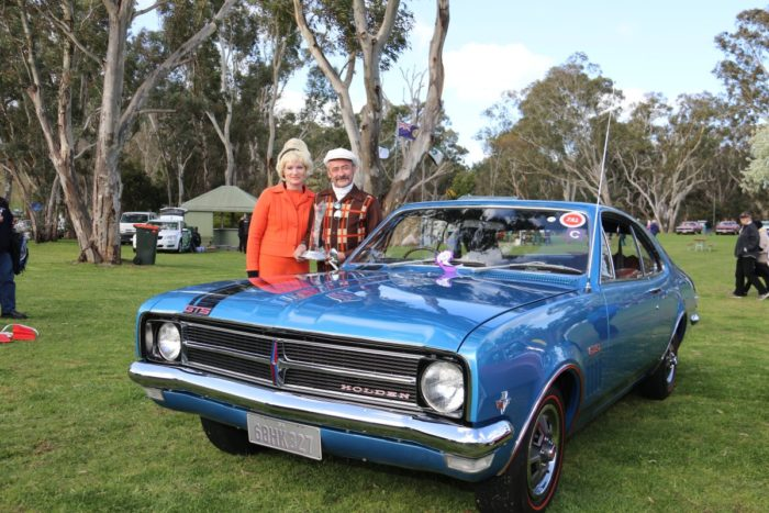 Concours Winner with vehicle